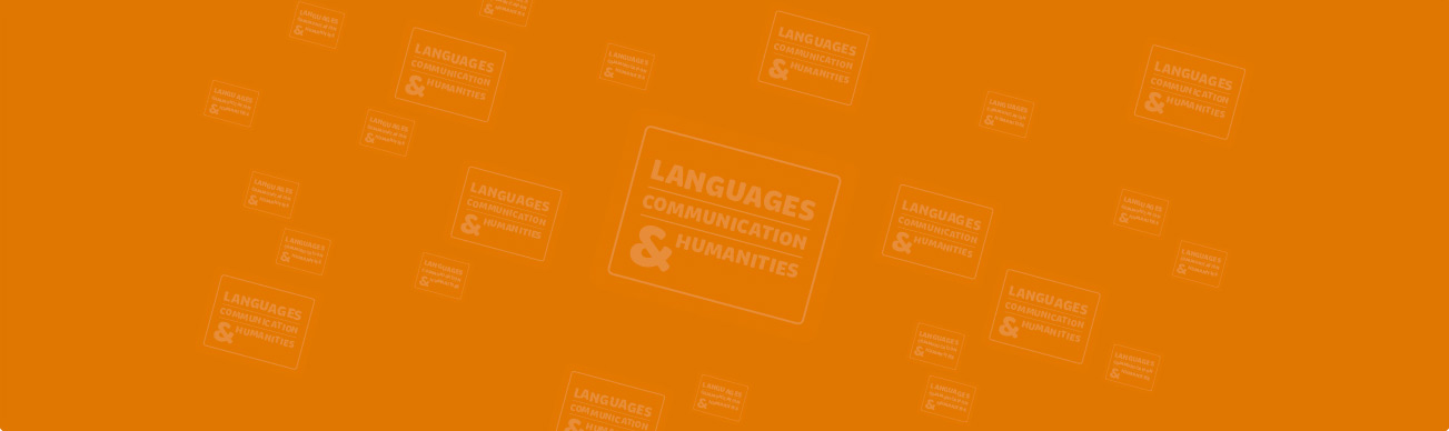 Languages, Communication, and Humanities Background Image
