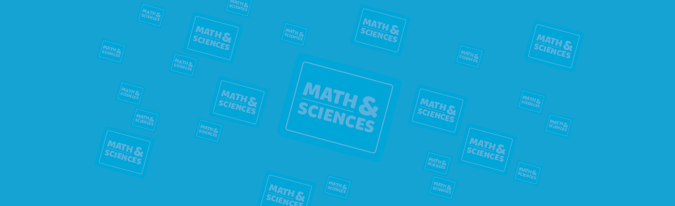 Math and Sciences Background Image